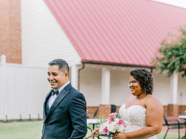 Allie and Elmer's Wedding in Hanover, Virginia 112