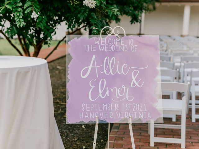 Allie and Elmer's Wedding in Hanover, Virginia 115