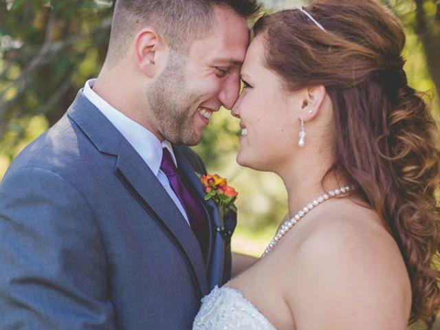 The wedding of Nolan and Brandy