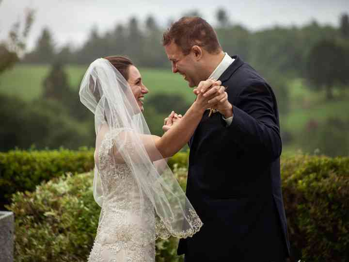 The wedding of Gavin and Laura