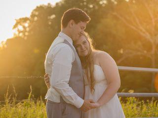 The wedding of Seth and Hunter