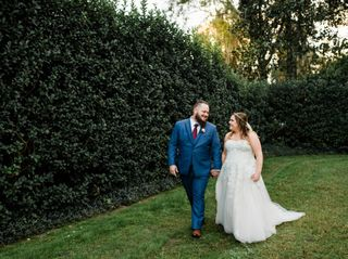 The wedding of Amy and Ely