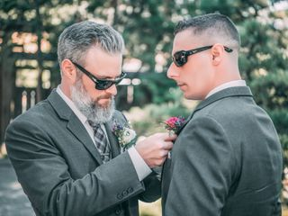 The wedding of Erik and Christie 2