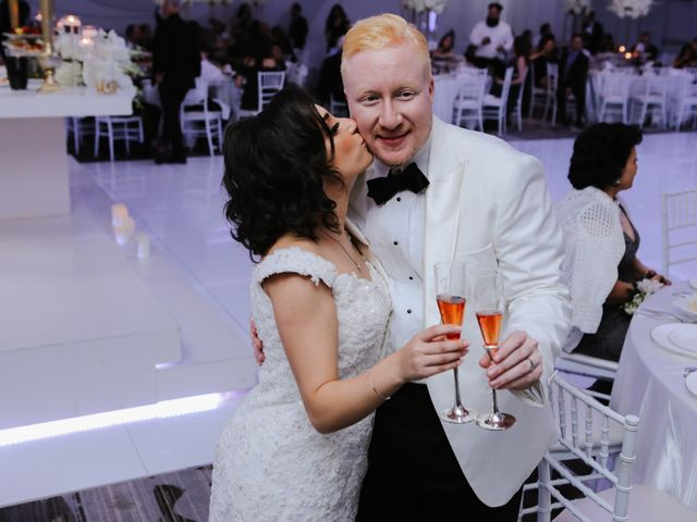 The wedding of Millina and Sherif