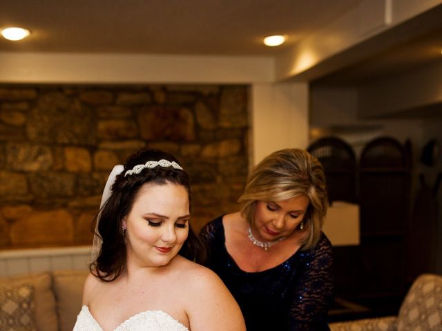 Cory and Brianna's Wedding in Lake Lure, North Carolina 4
