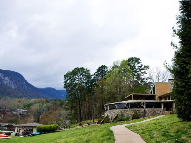 Cory and Brianna's Wedding in Lake Lure, North Carolina 11
