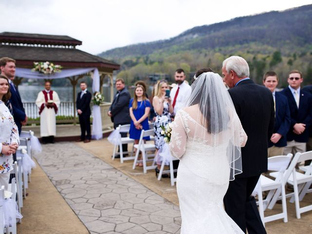 Cory and Brianna's Wedding in Lake Lure, North Carolina 23