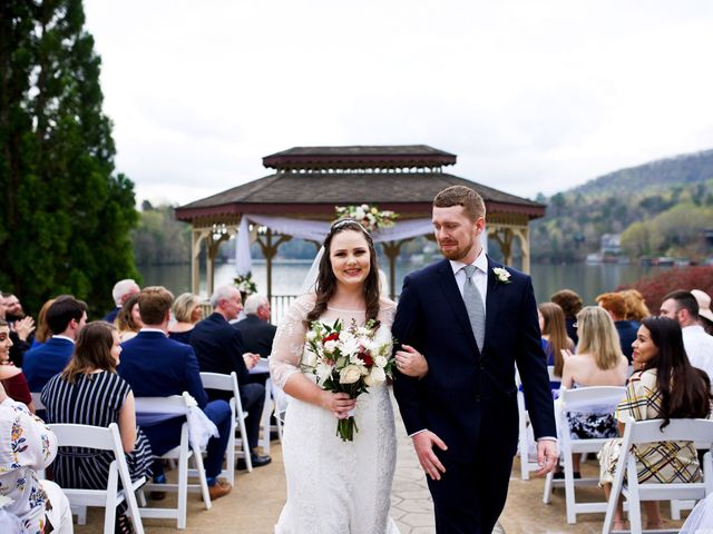 Cory and Brianna's Wedding in Lake Lure, North Carolina 1