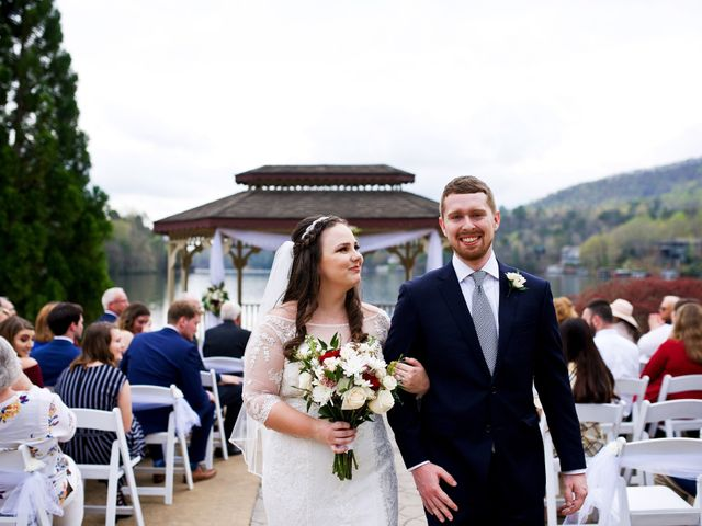 Cory and Brianna's Wedding in Lake Lure, North Carolina 24