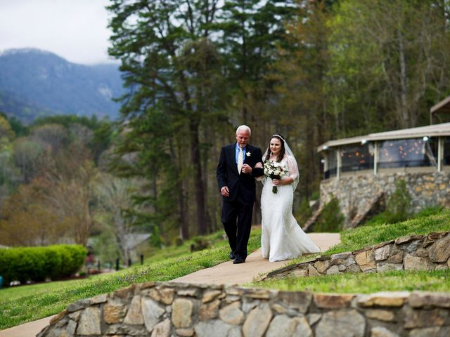 Cory and Brianna's Wedding in Lake Lure, North Carolina 30