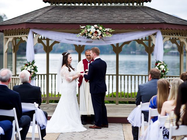Cory and Brianna's Wedding in Lake Lure, North Carolina 36
