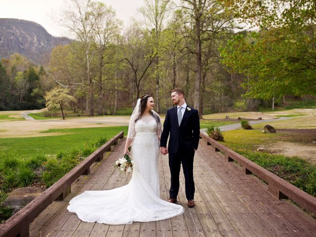 Cory and Brianna's Wedding in Lake Lure, North Carolina 2