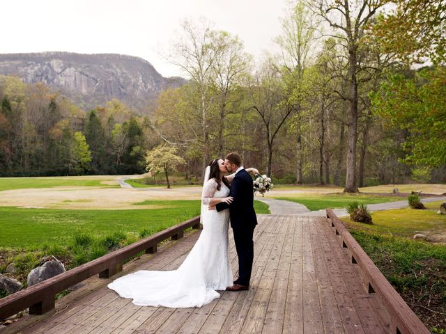 Cory and Brianna's Wedding in Lake Lure, North Carolina 41