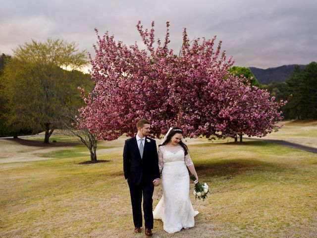 Cory and Brianna's Wedding in Lake Lure, North Carolina 42
