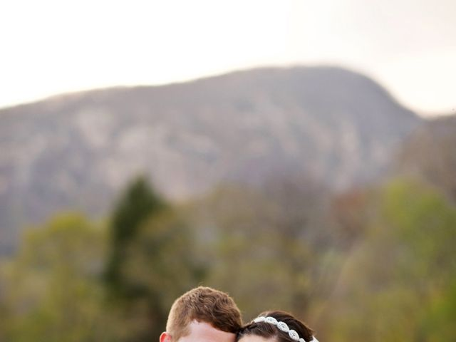 Cory and Brianna's Wedding in Lake Lure, North Carolina 48
