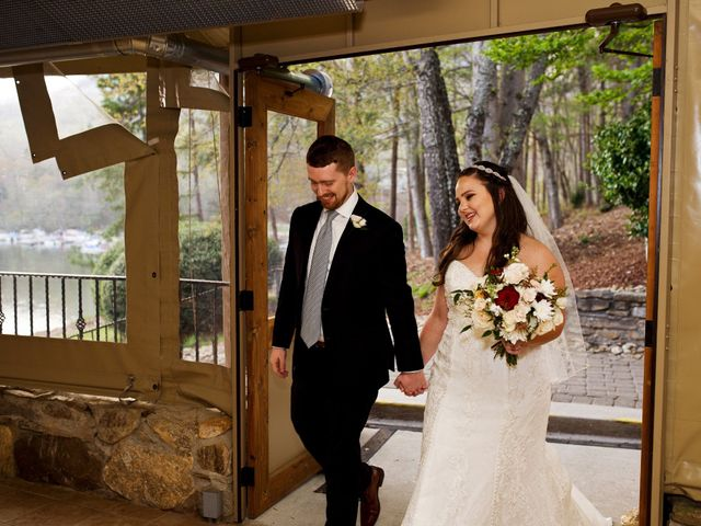 Cory and Brianna's Wedding in Lake Lure, North Carolina 58