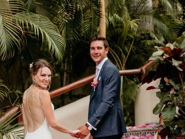 Brett and Amanda's Wedding in Bahias De Huatulco, Mexico 18