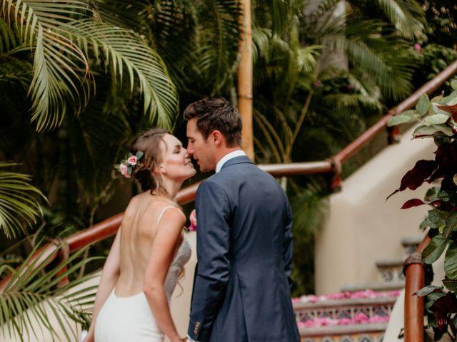 Brett and Amanda's Wedding in Bahias De Huatulco, Mexico 19