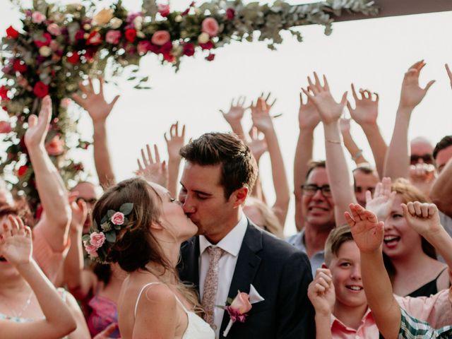 Brett and Amanda's Wedding in Bahias De Huatulco, Mexico 43