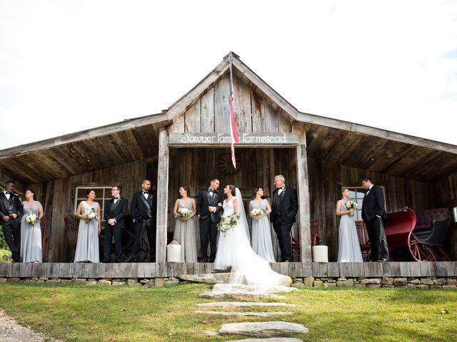 Steven and Jessie's Wedding in Glenville, North Carolina 27