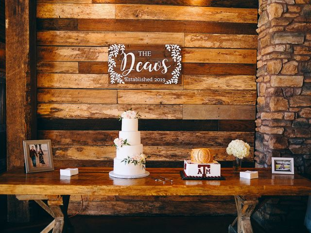 Amy and Bryan's Wedding in Montgomery, Texas 31