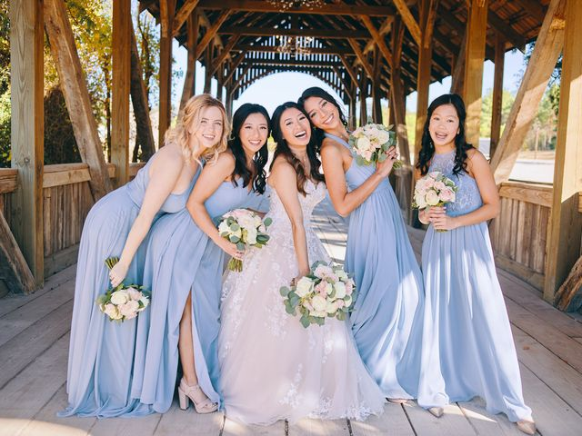 Amy and Bryan's Wedding in Montgomery, Texas 38
