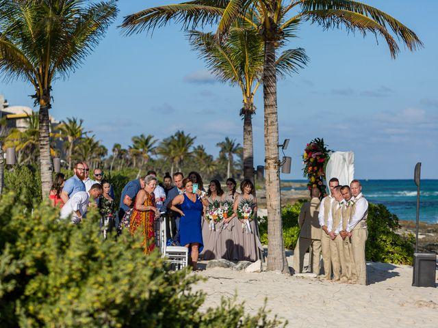 Kyle and Crystal's Wedding in Playa del Carmen, Mexico 30