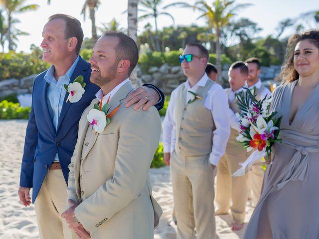 Kyle and Crystal's Wedding in Playa del Carmen, Mexico 32