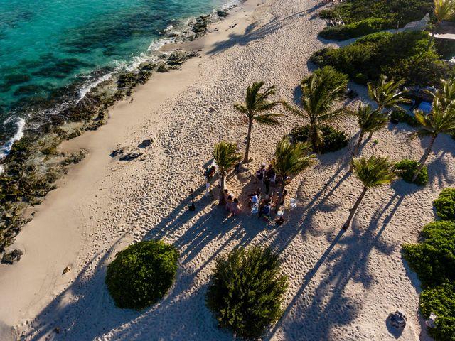 Kyle and Crystal's Wedding in Playa del Carmen, Mexico 35