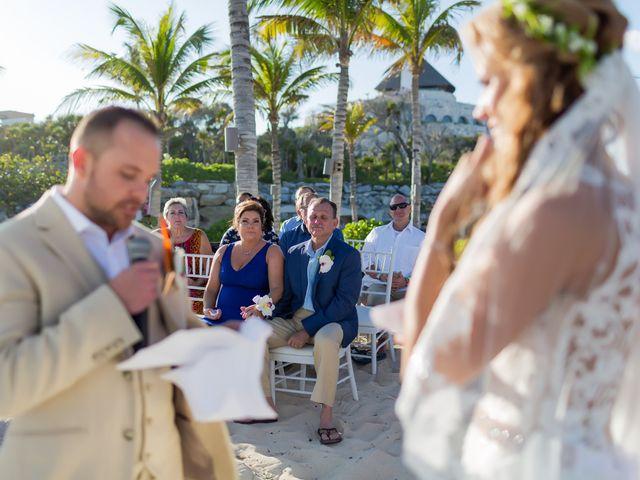 Kyle and Crystal's Wedding in Playa del Carmen, Mexico 38