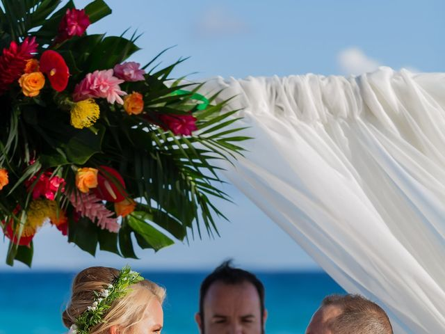 Kyle and Crystal's Wedding in Playa del Carmen, Mexico 39