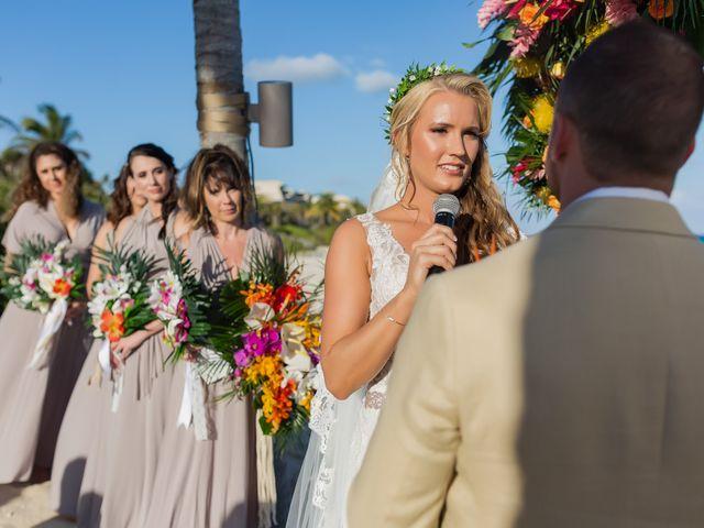 Kyle and Crystal's Wedding in Playa del Carmen, Mexico 42