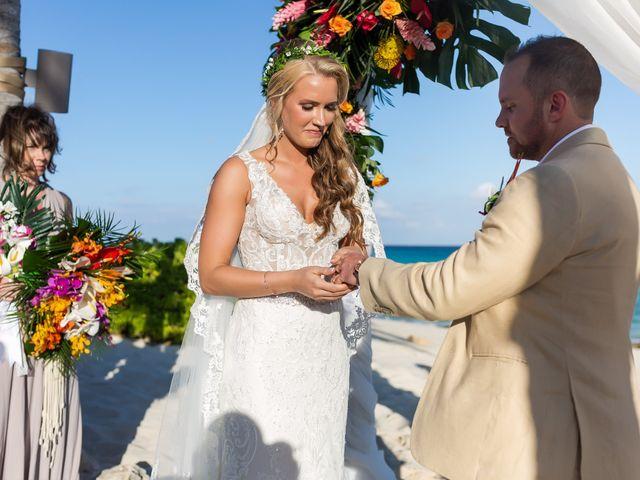 Kyle and Crystal's Wedding in Playa del Carmen, Mexico 43