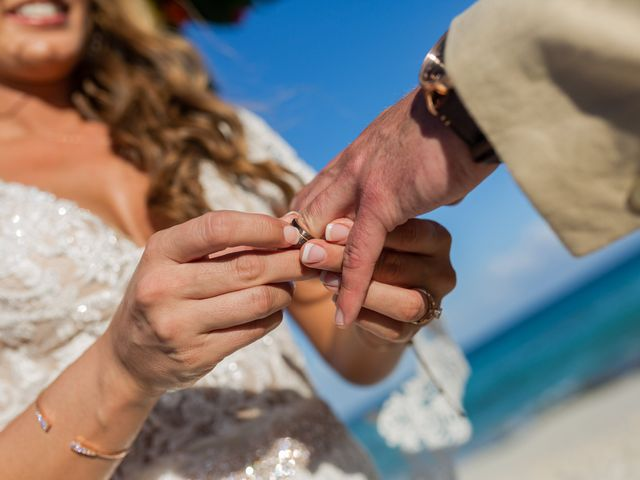 Kyle and Crystal's Wedding in Playa del Carmen, Mexico 44