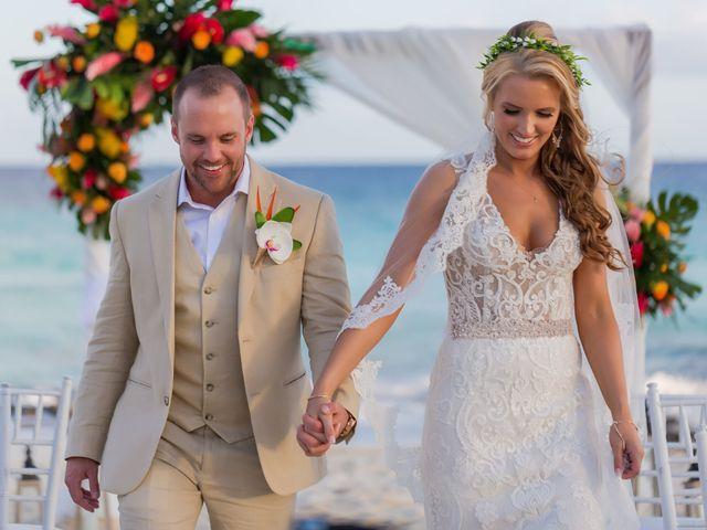 Kyle and Crystal's Wedding in Playa del Carmen, Mexico 47