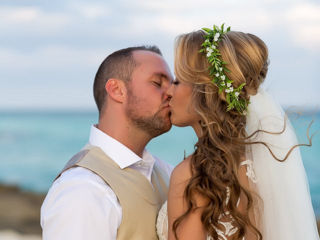 Kyle and Crystal's Wedding in Playa del Carmen, Mexico 50