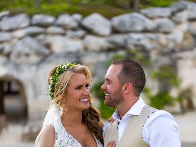 Kyle and Crystal's Wedding in Playa del Carmen, Mexico 51