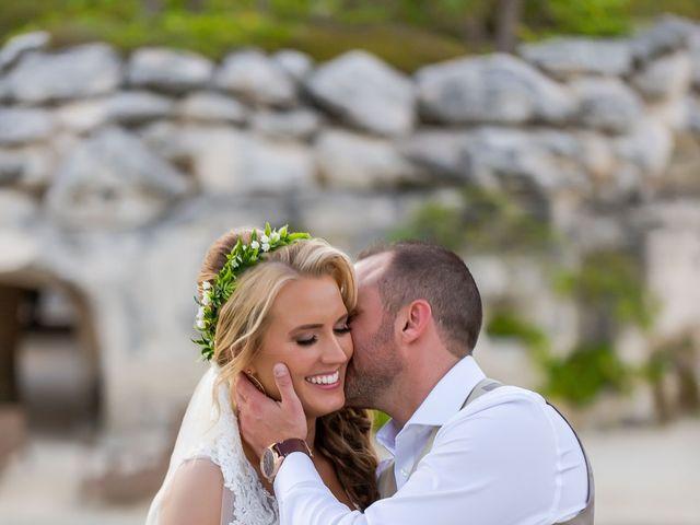Kyle and Crystal's Wedding in Playa del Carmen, Mexico 52