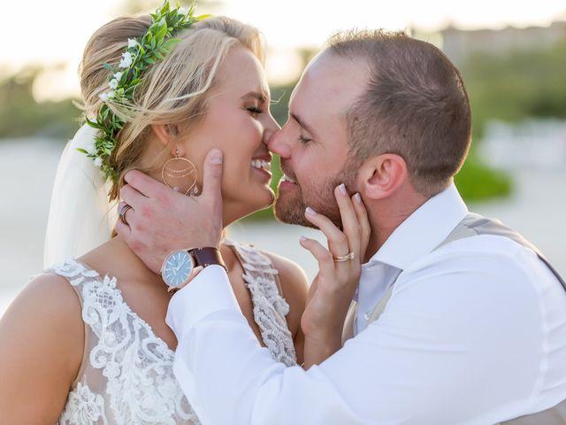 Kyle and Crystal's Wedding in Playa del Carmen, Mexico 55