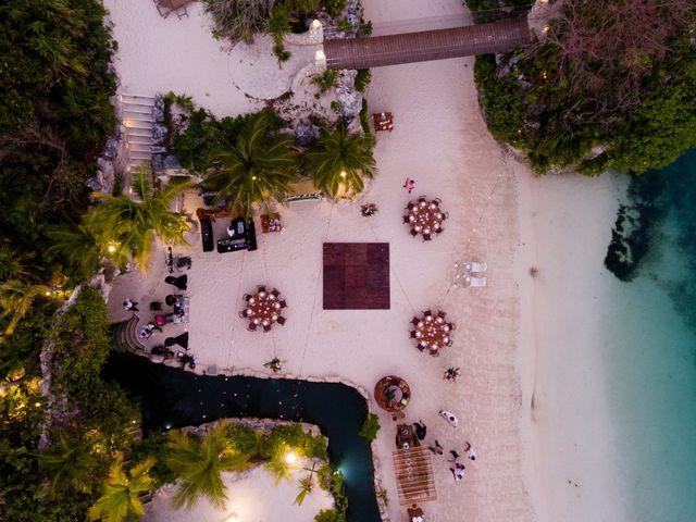 Kyle and Crystal's Wedding in Playa del Carmen, Mexico 66