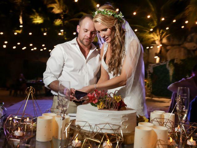Kyle and Crystal's Wedding in Playa del Carmen, Mexico 71