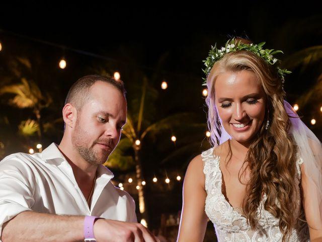Kyle and Crystal's Wedding in Playa del Carmen, Mexico 72