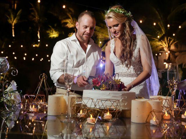 Kyle and Crystal's Wedding in Playa del Carmen, Mexico 73