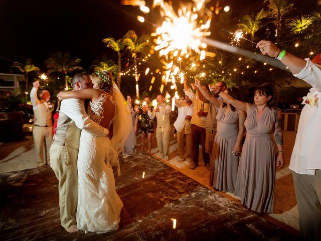 Kyle and Crystal's Wedding in Playa del Carmen, Mexico 75
