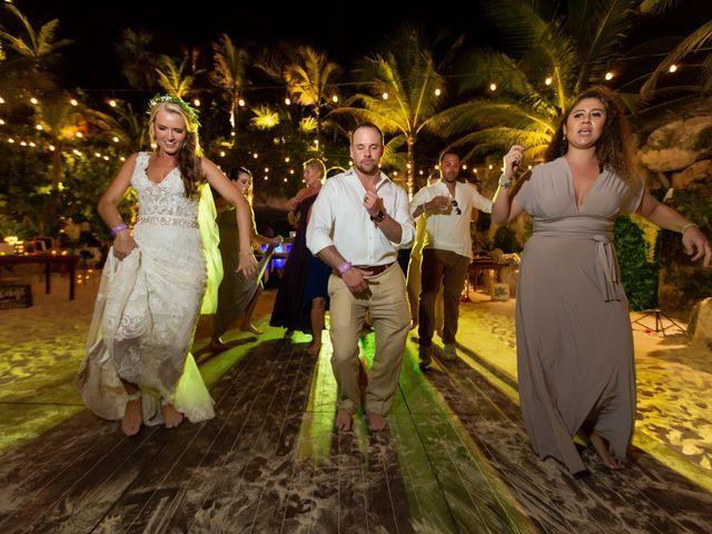 Kyle and Crystal's Wedding in Playa del Carmen, Mexico 80