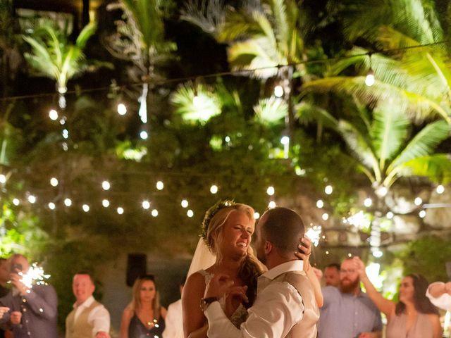 Kyle and Crystal's Wedding in Playa del Carmen, Mexico 81