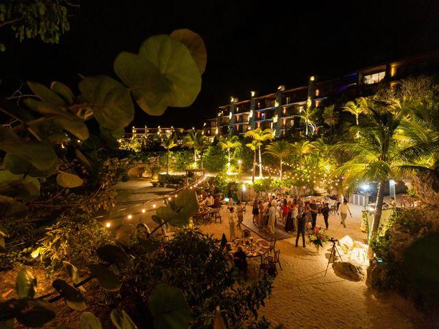 Kyle and Crystal's Wedding in Playa del Carmen, Mexico 84