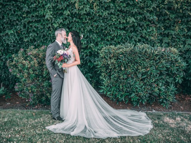 The wedding of Erik and Christie