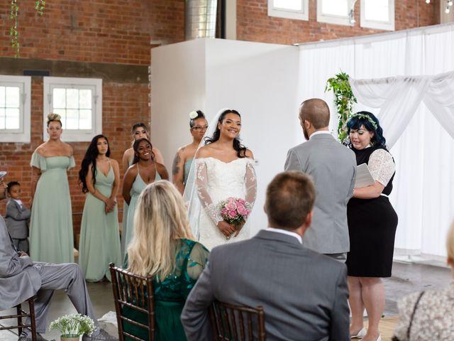 Tyler and Mia's Wedding in California City, California 9
