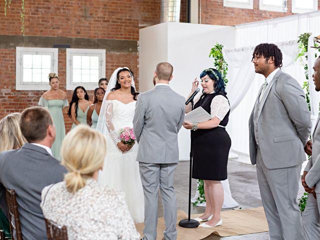 Tyler and Mia's Wedding in California City, California 10